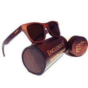 Ebony Wood Sunglasses, Polarized, Handcrafted